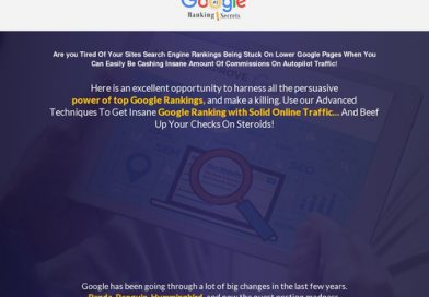 2020 Google Ranking Secrets + 3 Bonuses